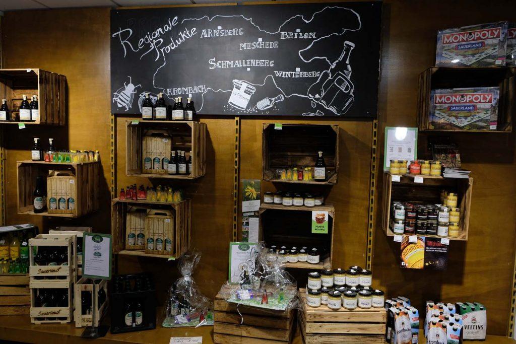 Landal Winterberg supermarkt