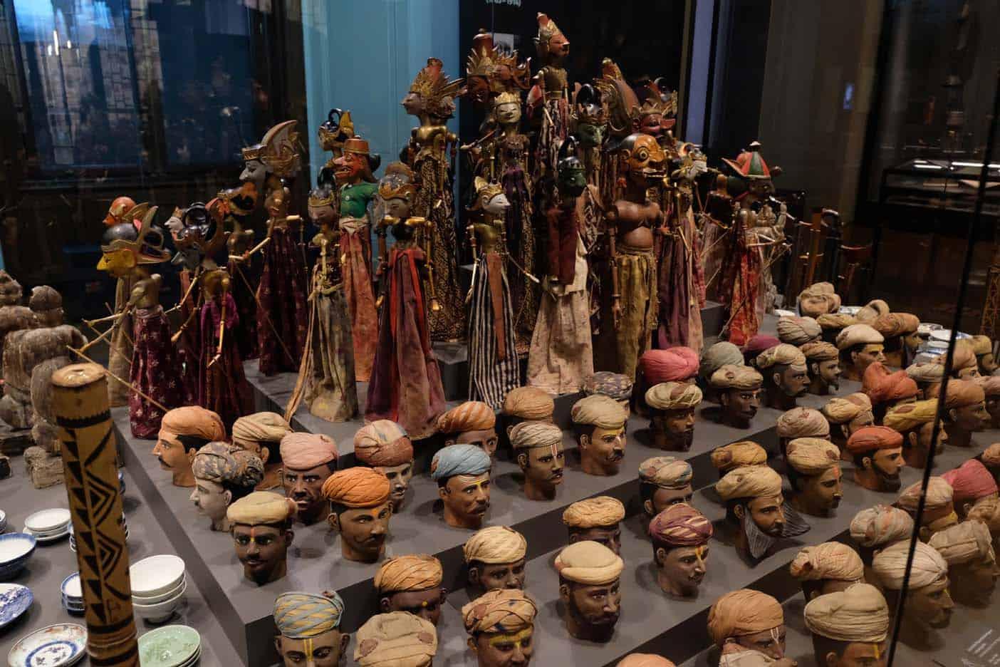 Wenen met kinderen weltmuseum