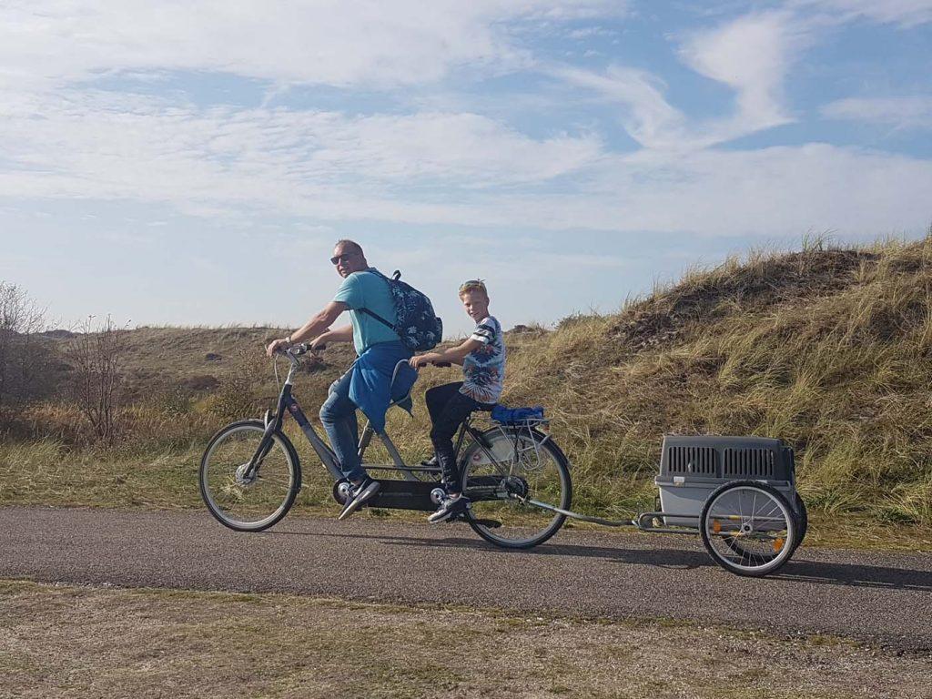 terschelling fietsen met kinderen