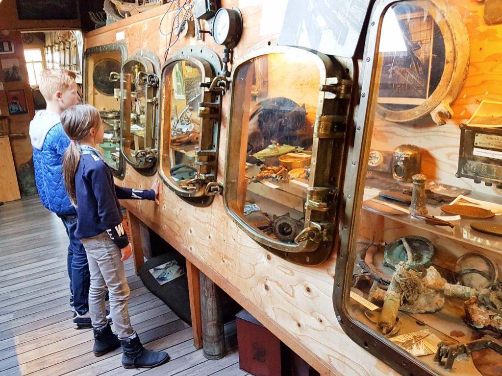 terschelling met kinderen wrakkenmuseum