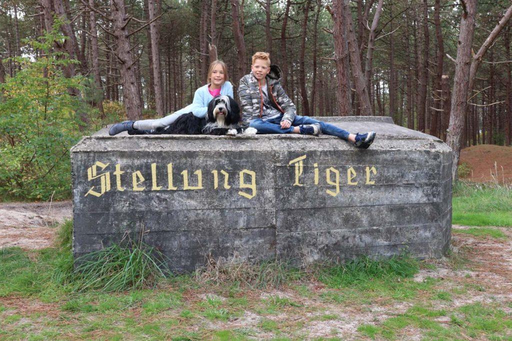 Tigerstelling_bunkers Terschelling kinderen