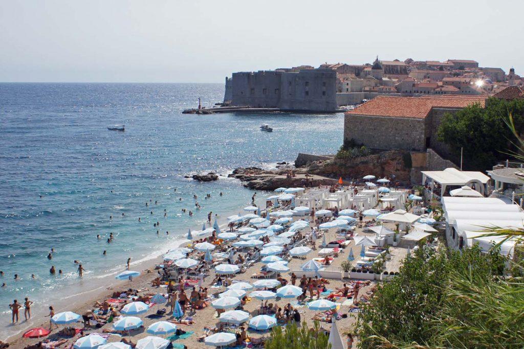 Dubrovnik met kinderen strand