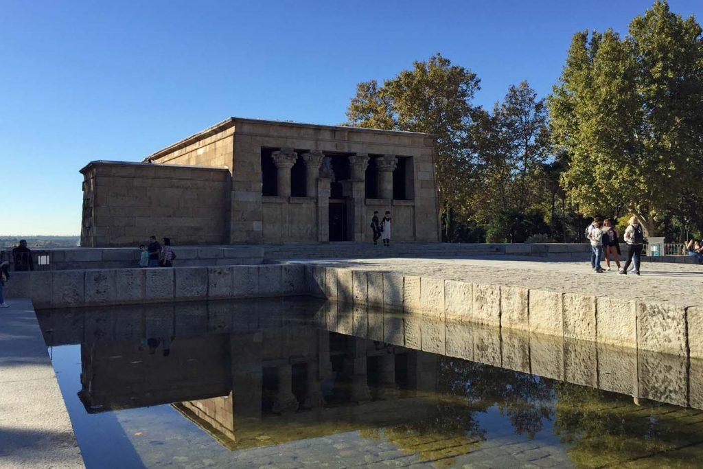 Egyptische tempel de Debod