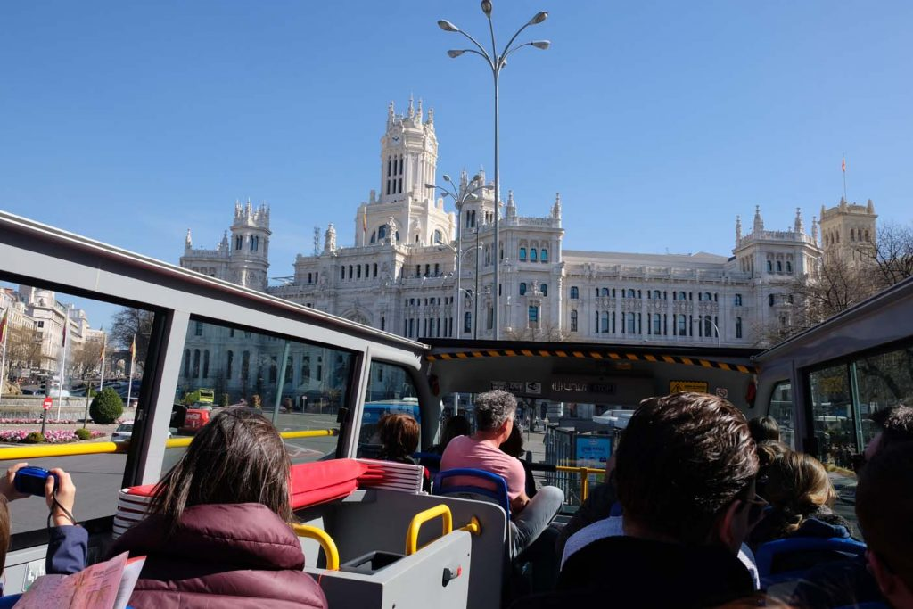 madrid met kinderen hop on hop ff bus