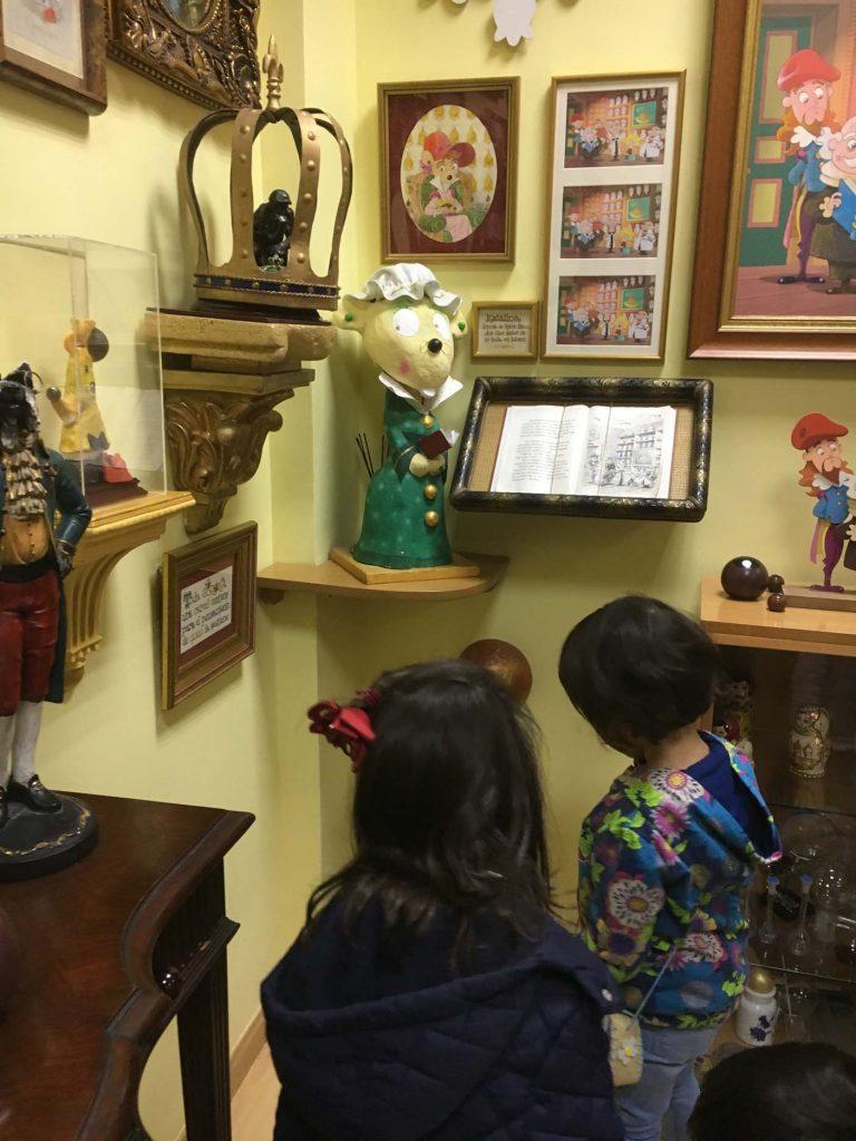 madrid met kinderen Museo de Ratón Pérez