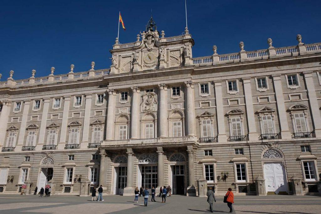 Madrid met kinderen paleis