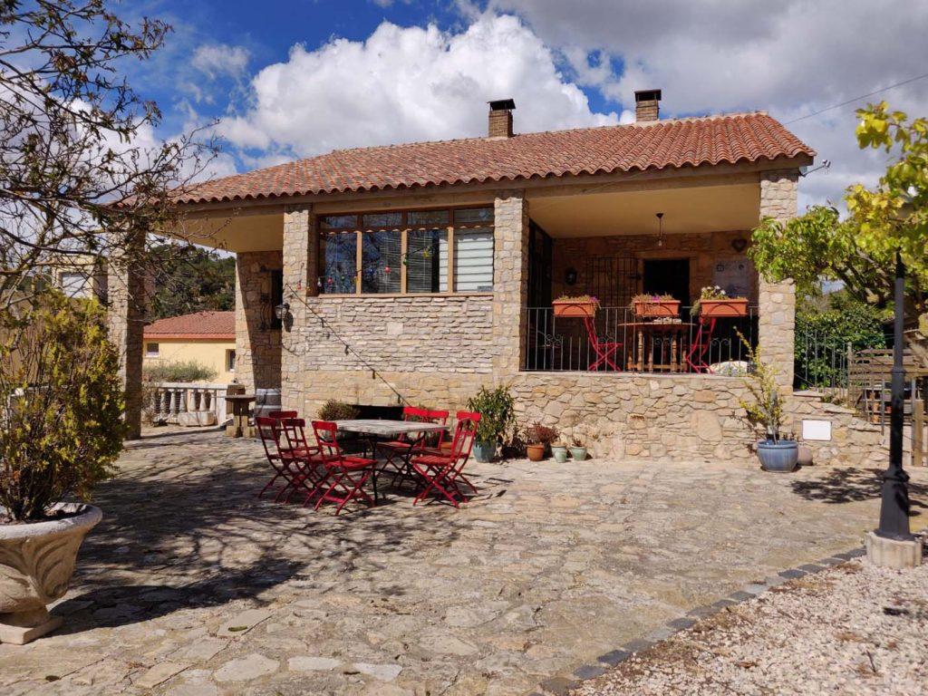 catalonie met kinderen rural house