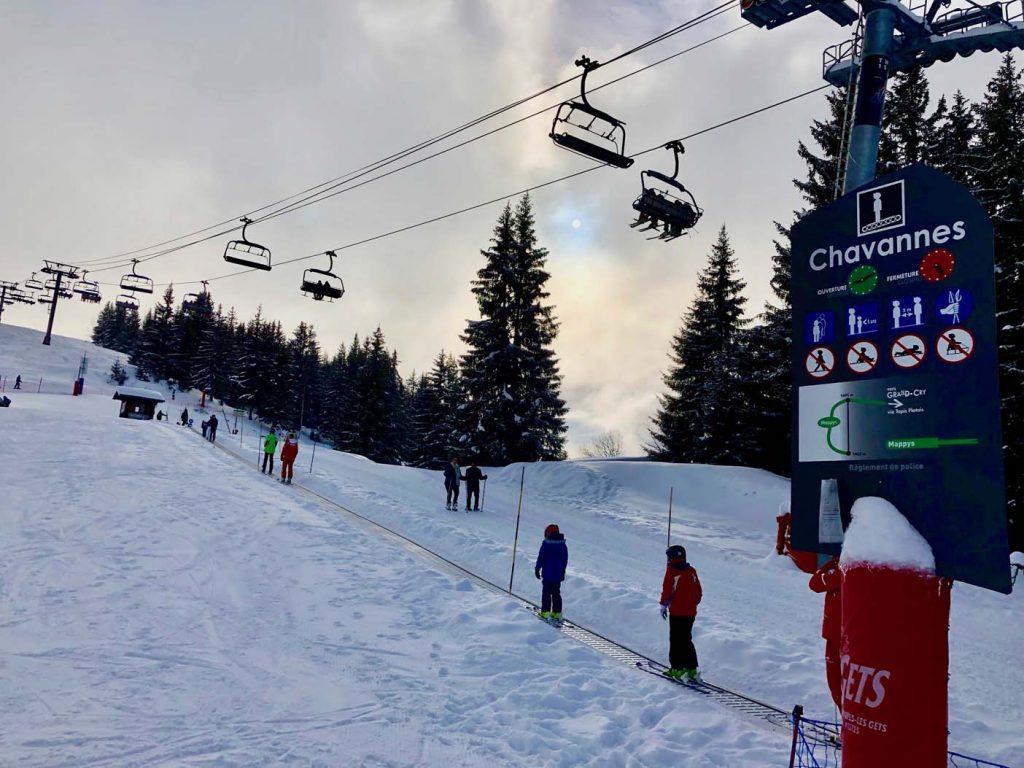 skigebied les met met kinderen