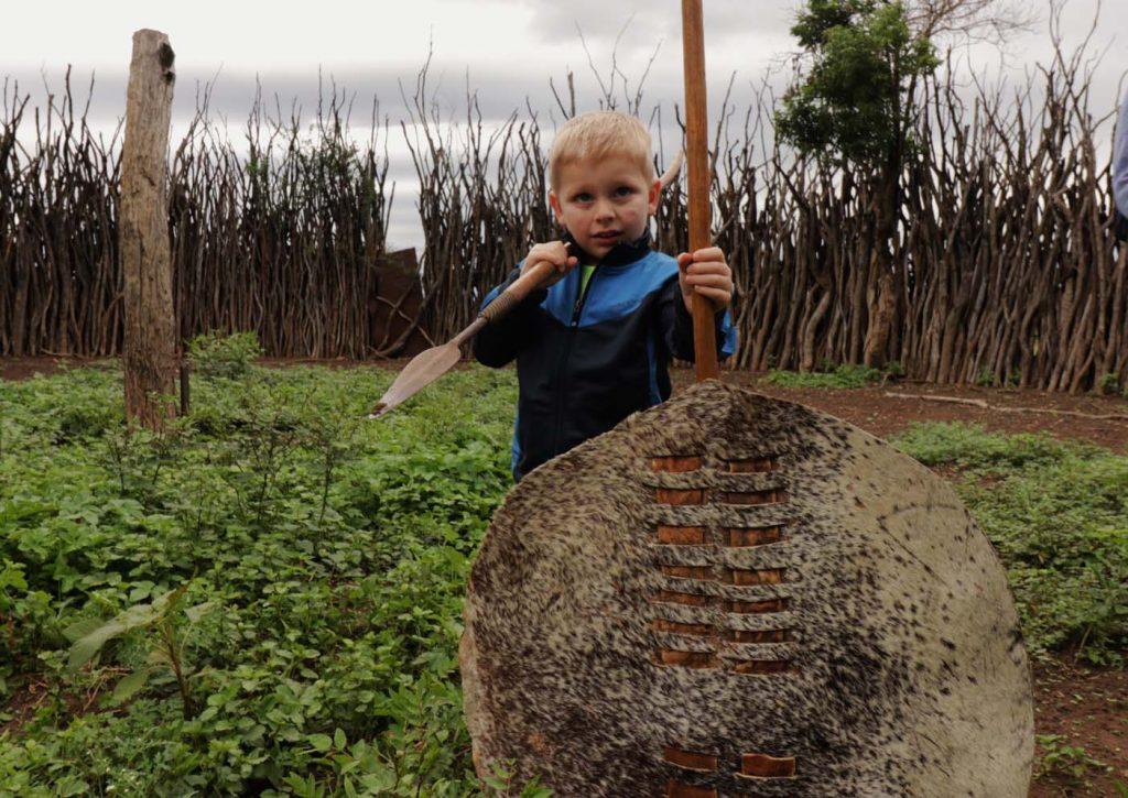 swaziland met kinderen