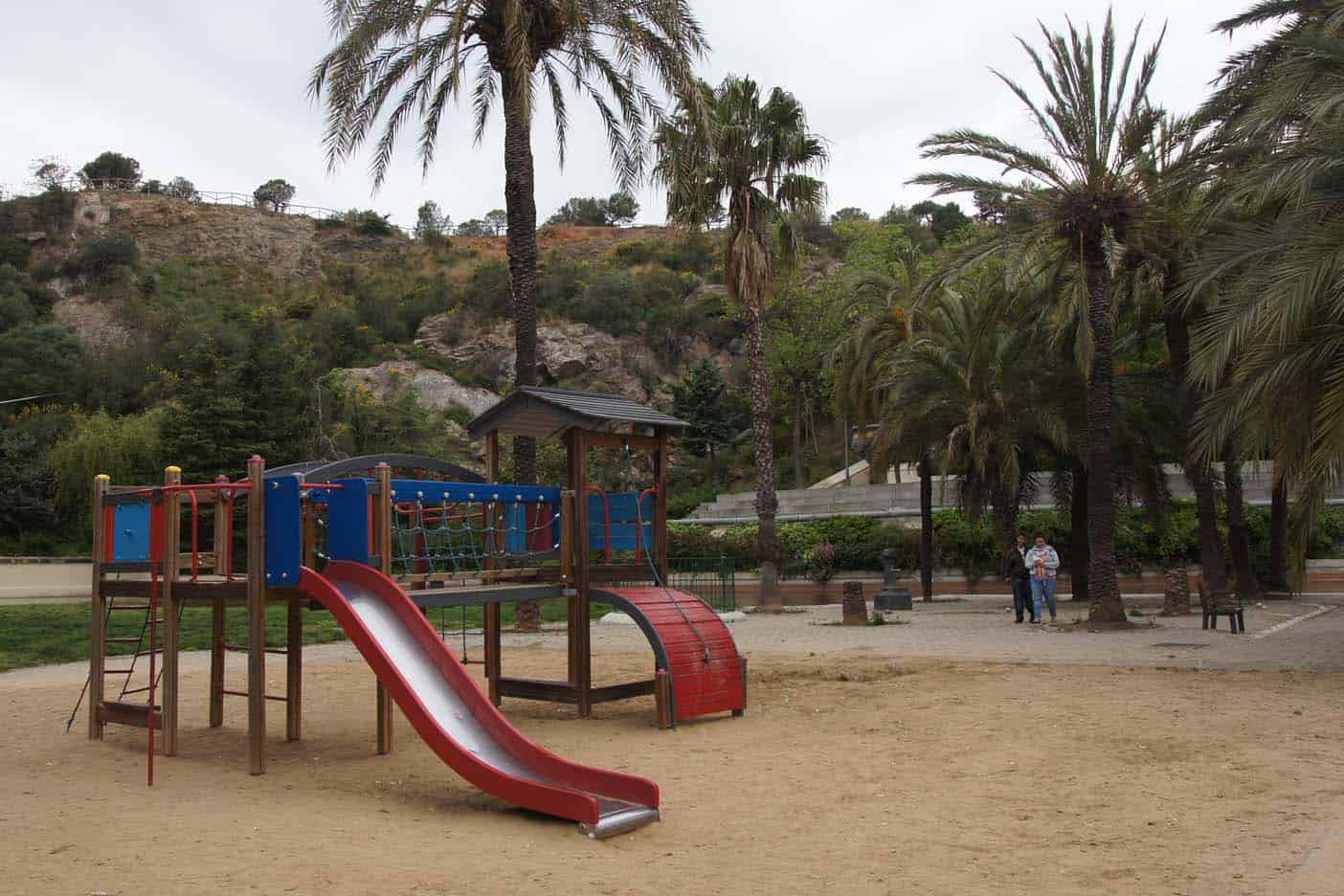 Park La Creueta de Coll parken barcelona