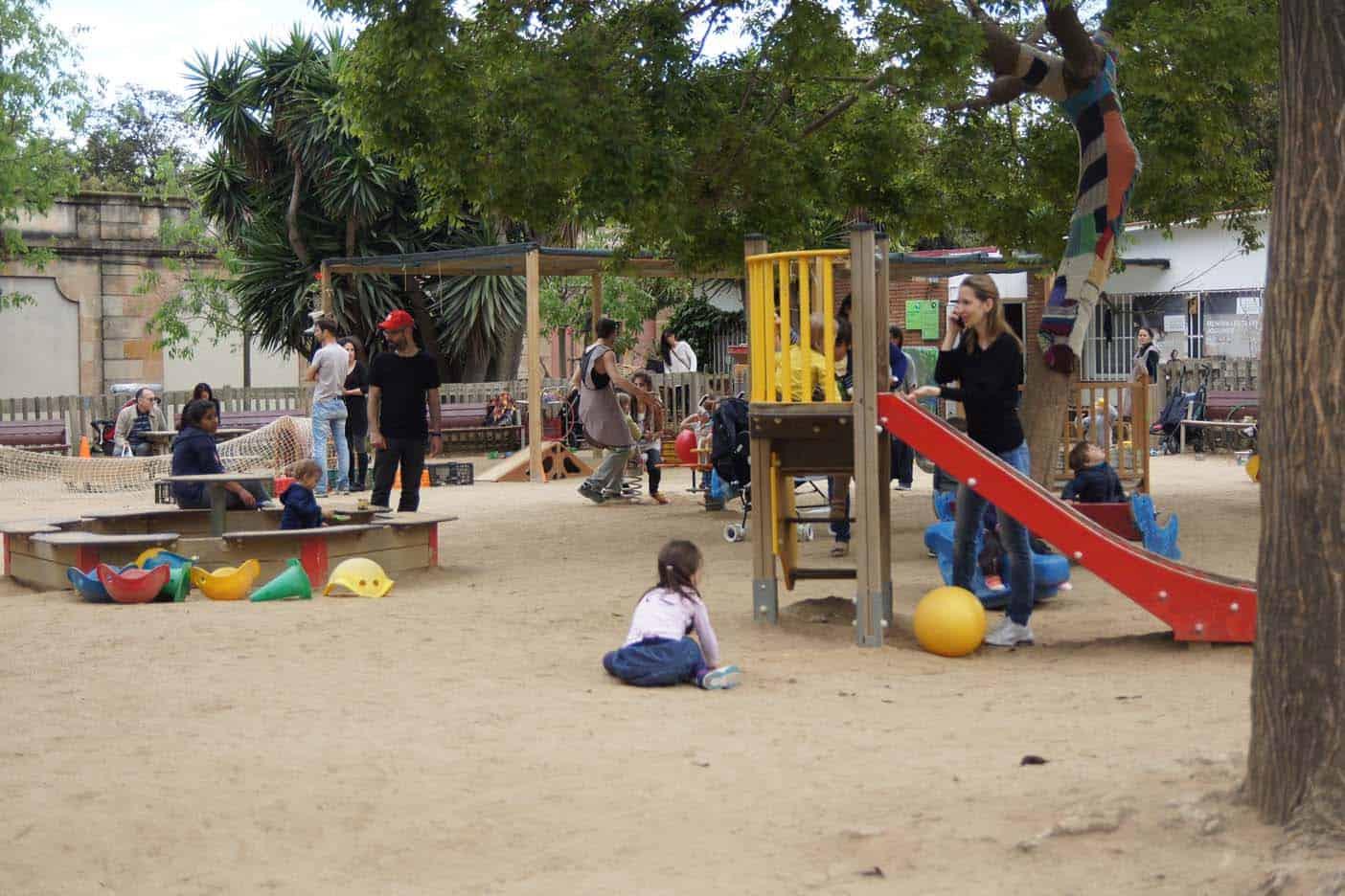 Park de la Ciutadella barcelona parken