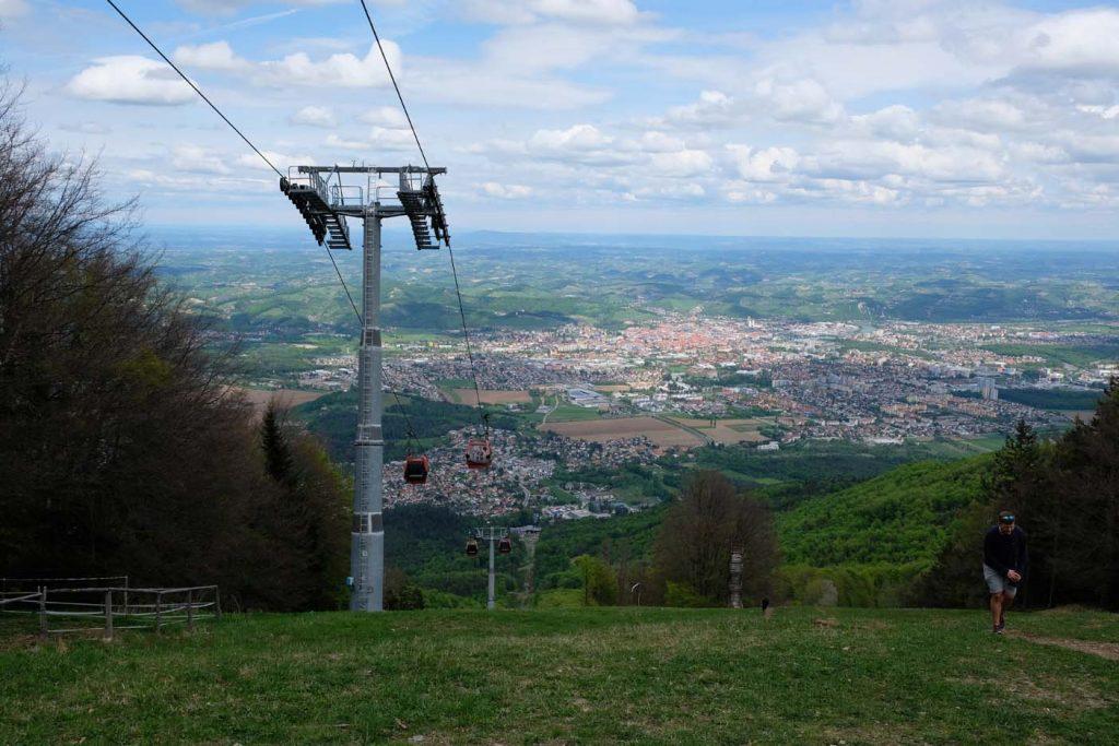 Maribor met kinderen kabelbaan