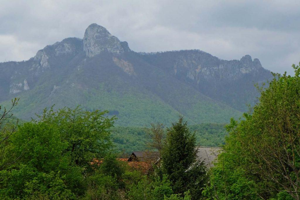 ogulin kroatie klek berg