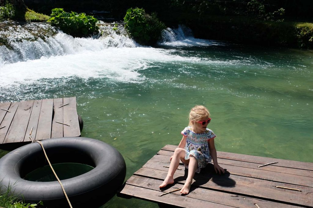 Rastoke watervallen