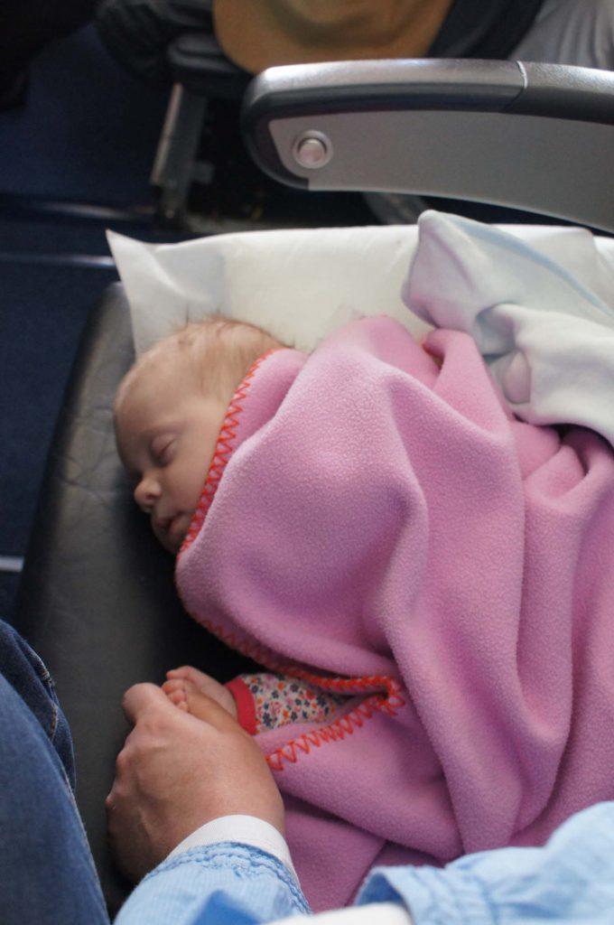 reizen met baby