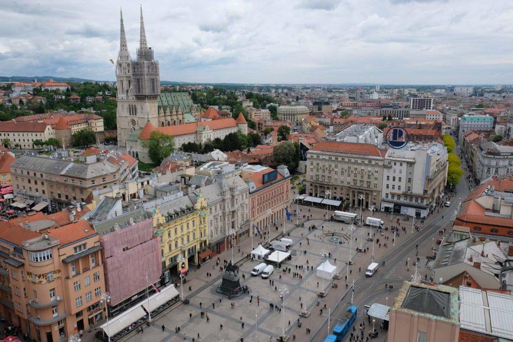 360 graden uitkijkpunt Zagreb