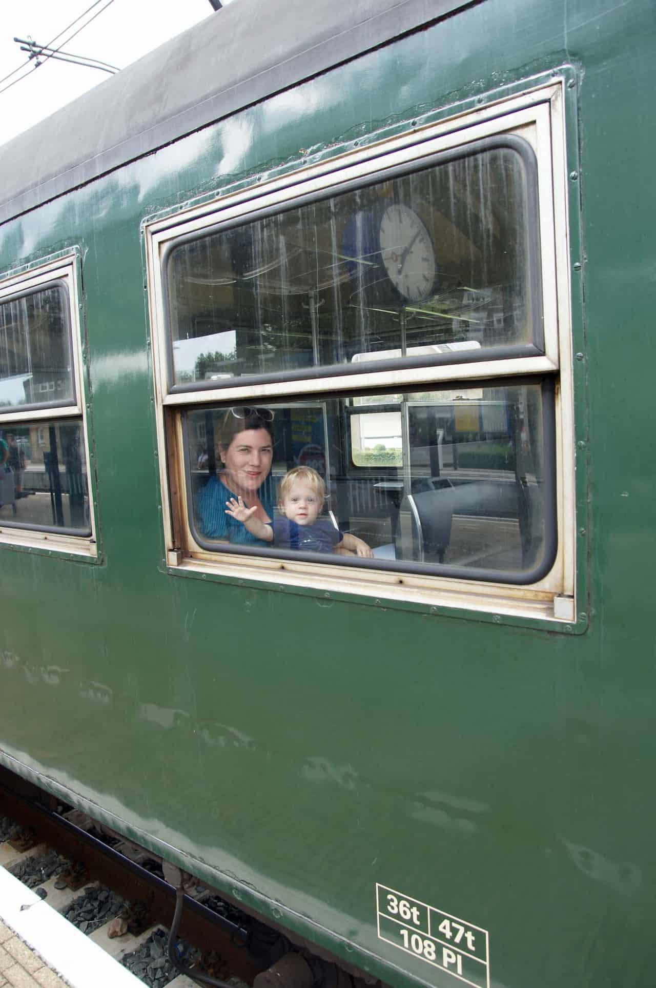 miljoenenlijntje Zuid-limburg met kinderen
