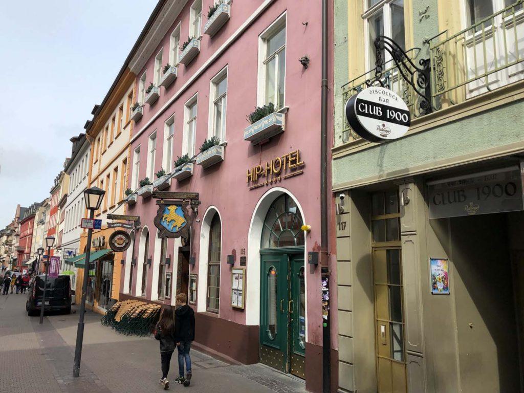 De Altstadt van Heidelberg