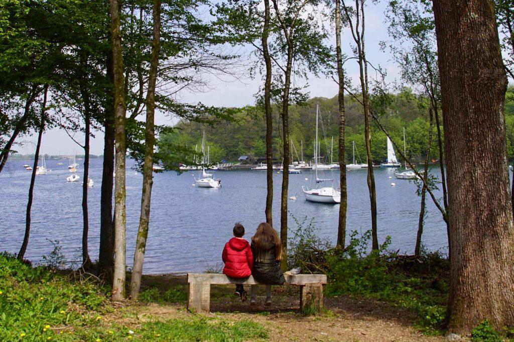 Fietsen langs de meren van l'Eau d'Heure