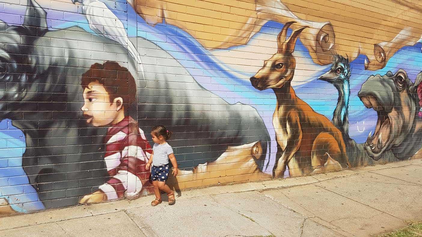 Australie met kinderen