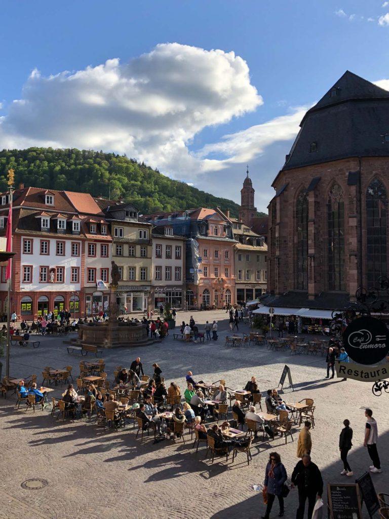 hotelkamer Am Rathaus Heidelberg