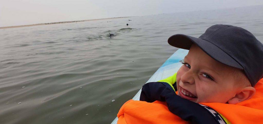 Swakopmund kajakken dolfijnen