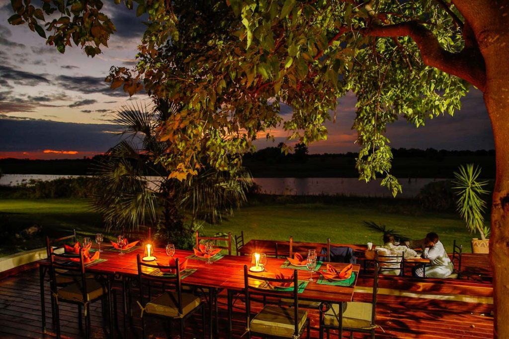 Thamalakane River Lodge in Maun
