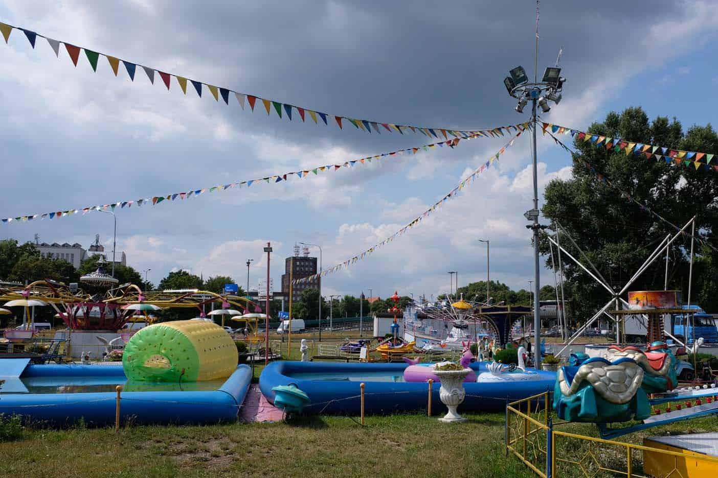 Lunapark Wroclaw met kids