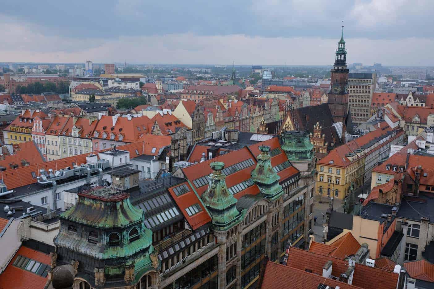 Wroclaw met kinderen kabouters