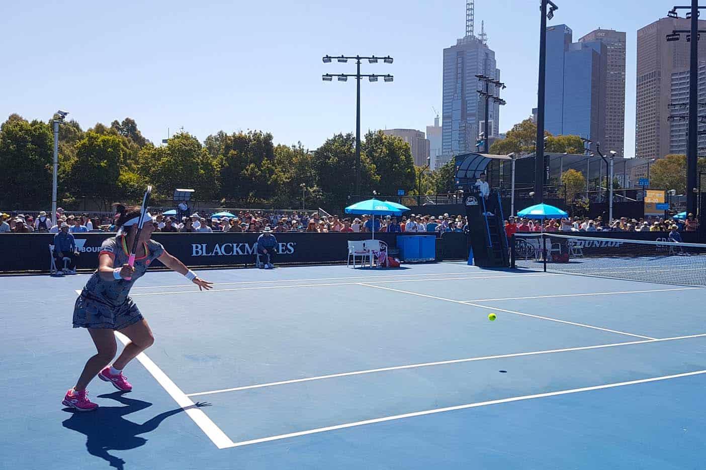 Melbourne met kinderen australian open