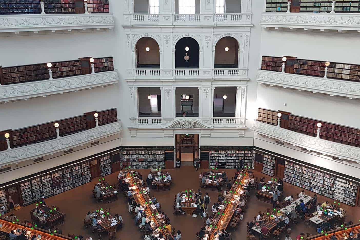 Melbourne met kinderen bibliotheek