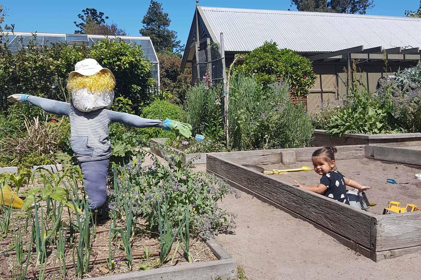 Melbourne met kinderen botanische tuin