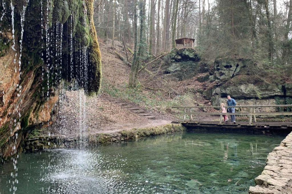 Kalktuff-bron