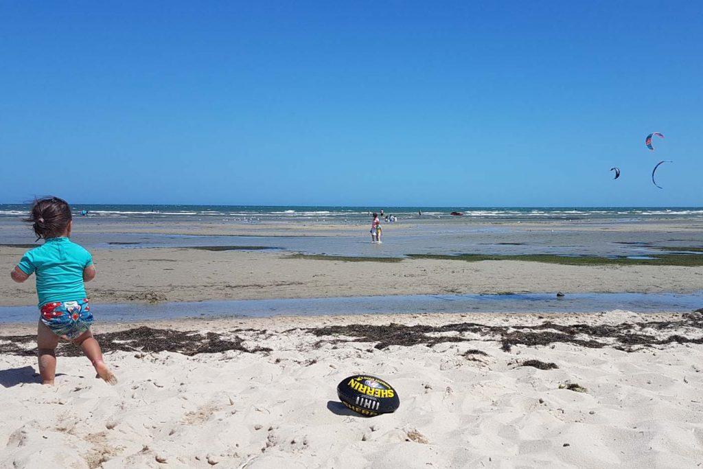 Melbourne met kinderen strand