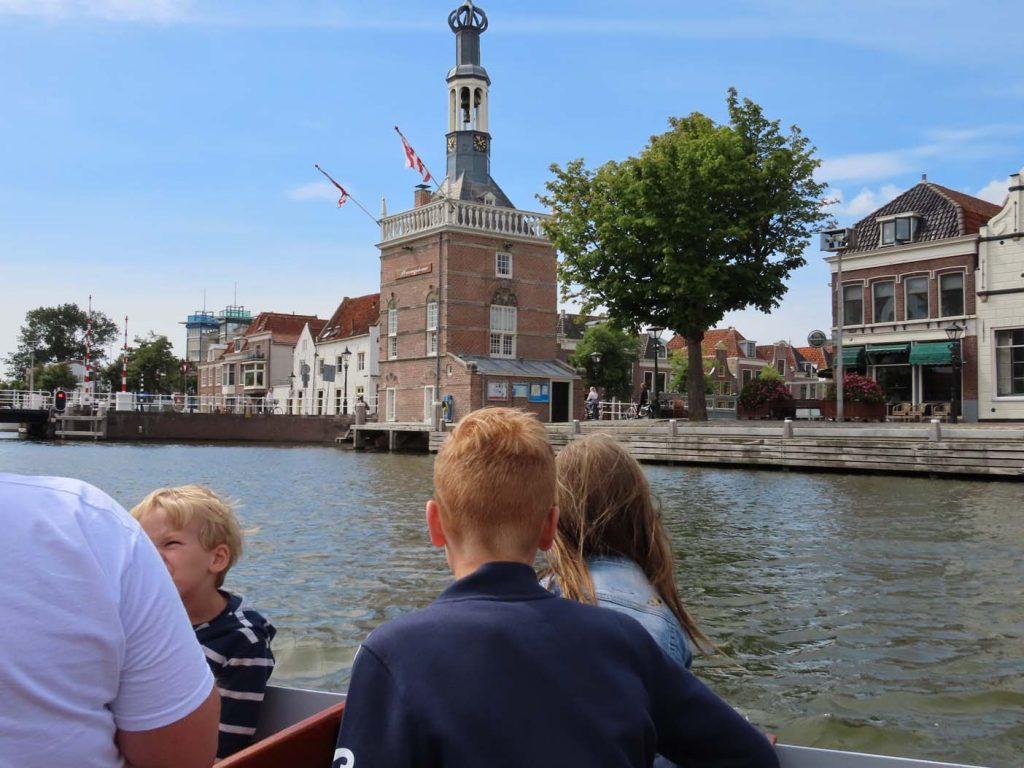 Een rondvaart door Alkmaar