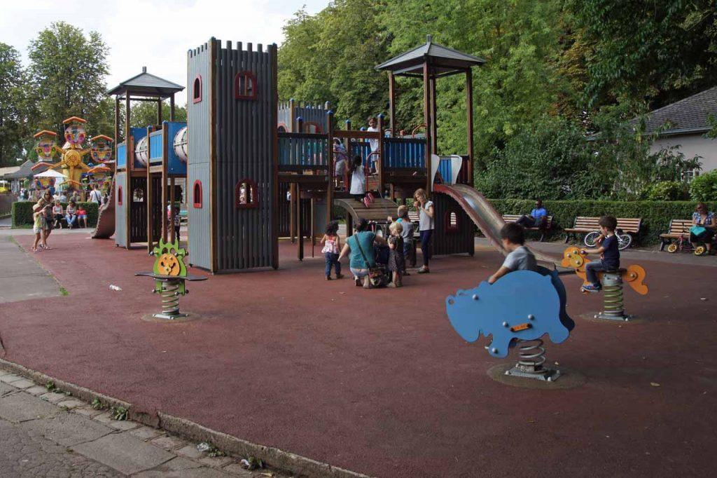 Speeltuin in Bois de Boulagne