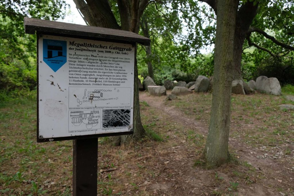 Megalithische graven  Lütow