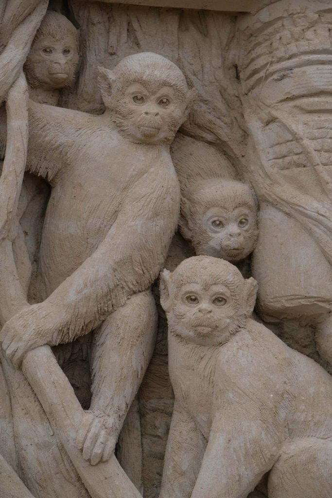 Usedom zandsculpturen