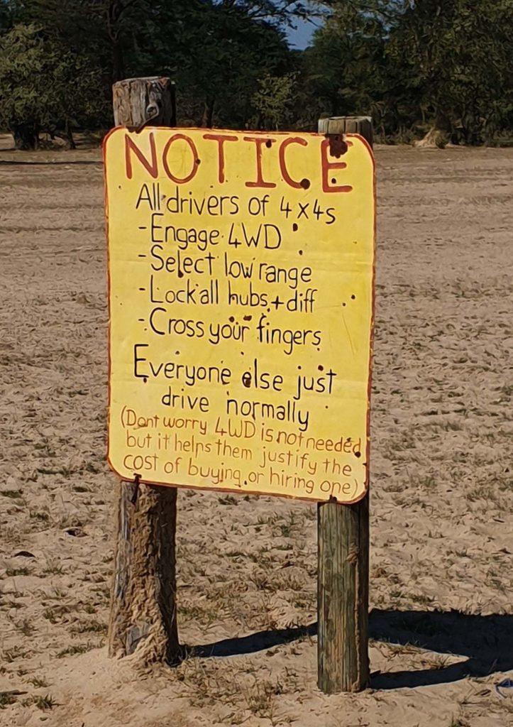 Kamperen in Afrika