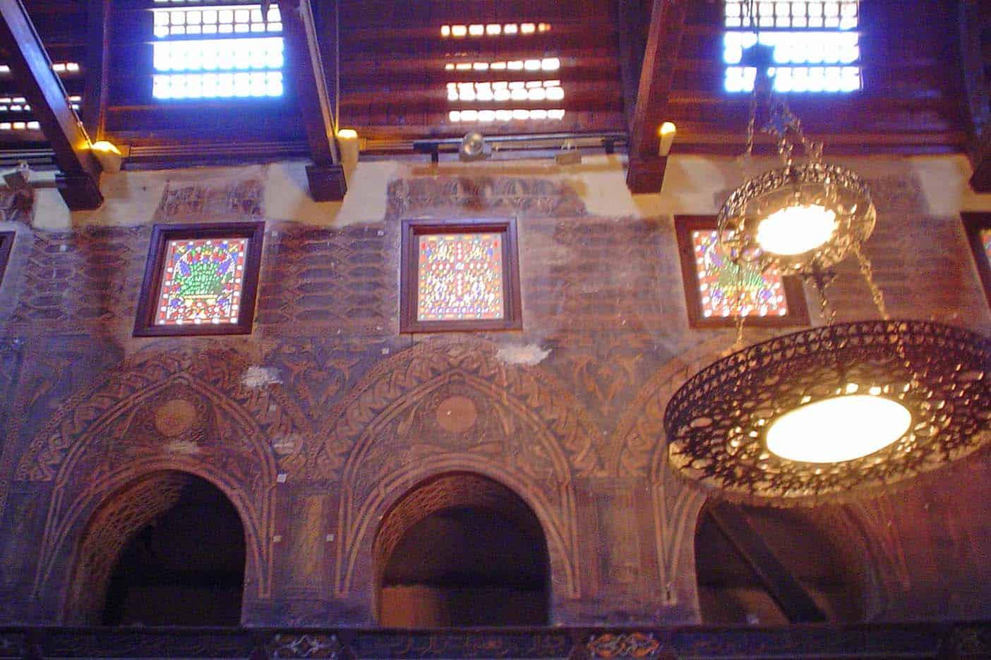Cairo koptische wijk