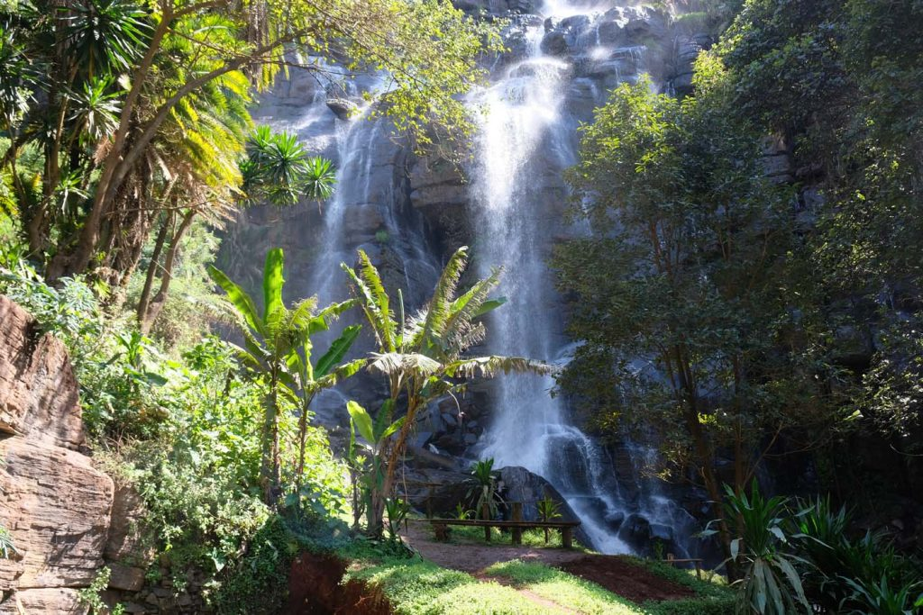 Kisasa waterval Usambaragebergte