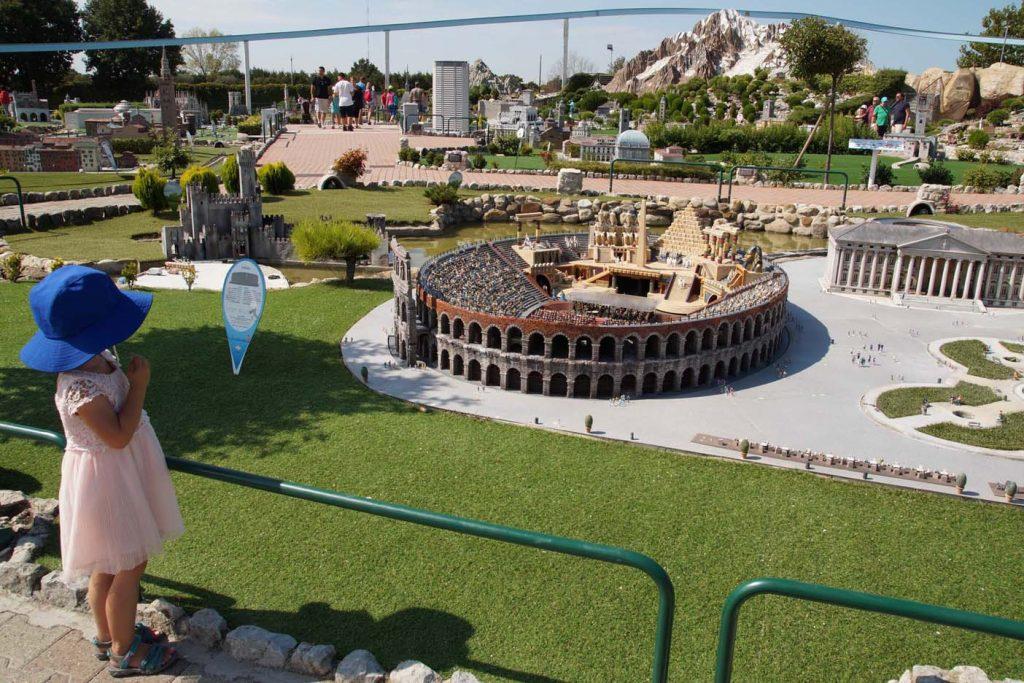 Rimini met kinderen italia in miniatura