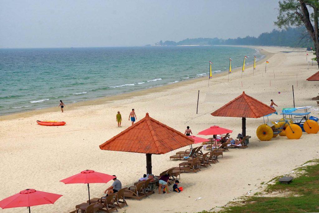 Bintan eiland strand