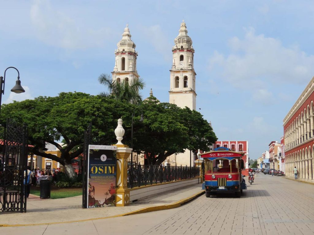mexico campeche route