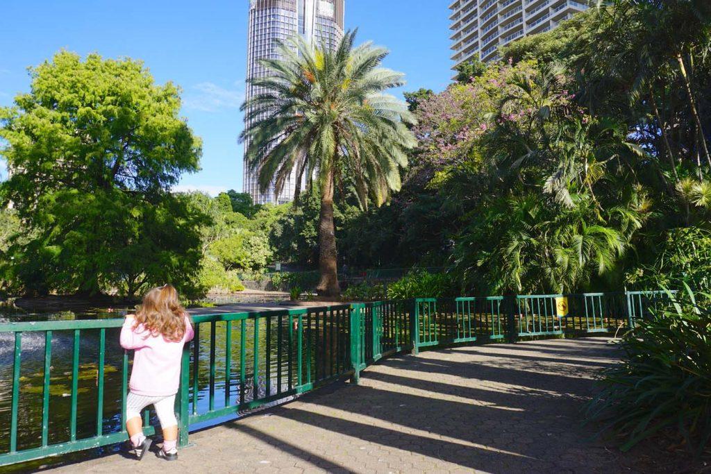 Botanische tuinen Brisbane