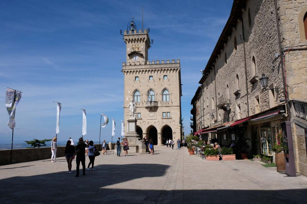 San Marino bezienswaardigheden