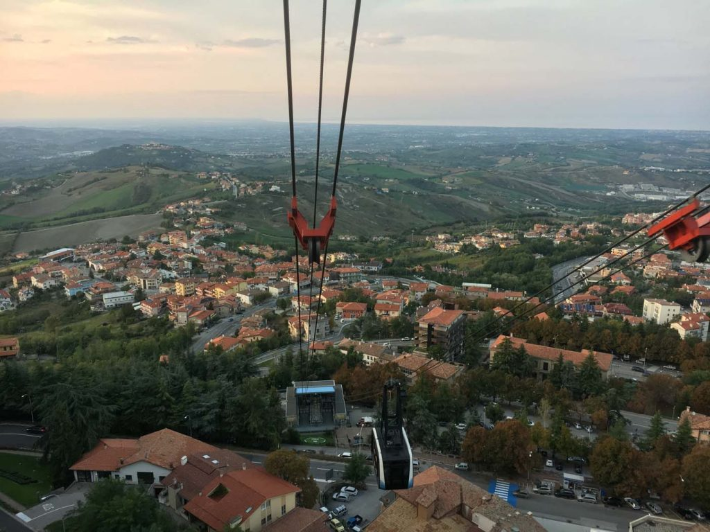 San Marino kabelbaan