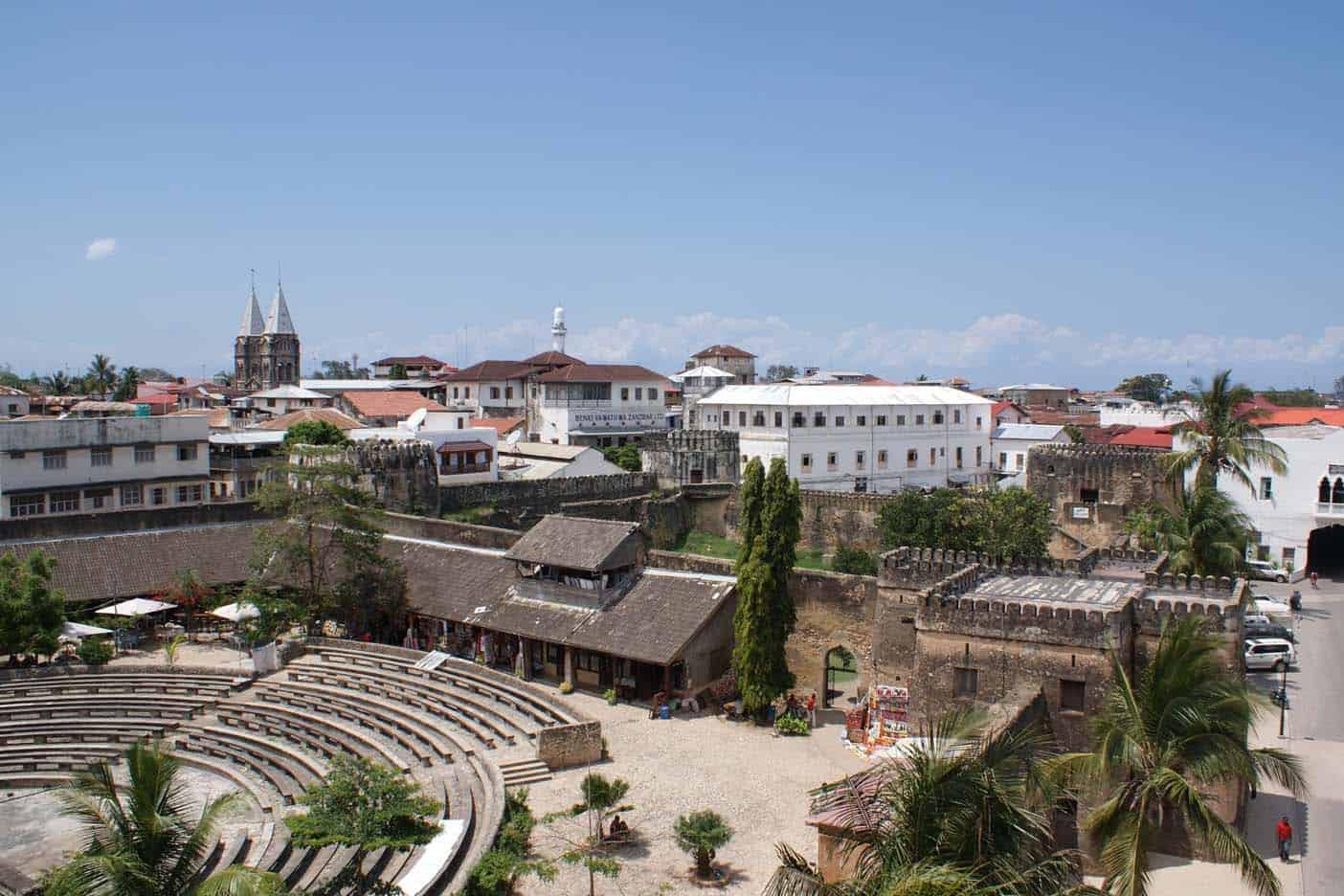 Arabische fort stone town