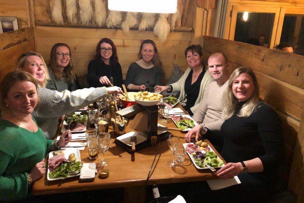 Eten in Alpe d'Huez