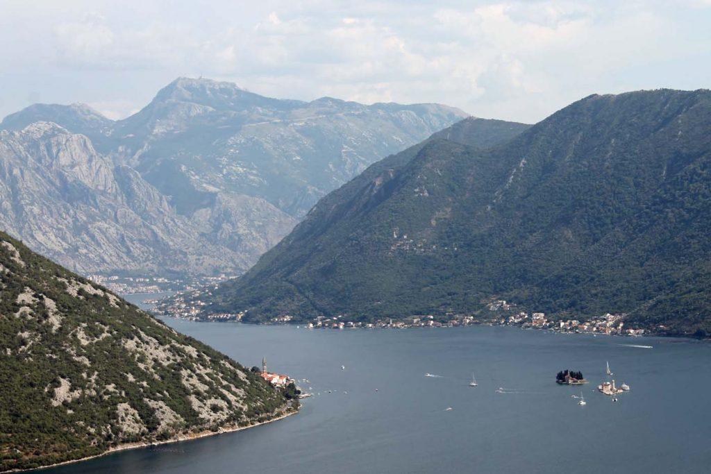 Fjorden van Kotor in Montenegro